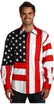 Scully Patriot Shirt Men's Long Sleeve Button Up