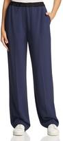 DKNY Pure Drawcord Wide Leg Pants