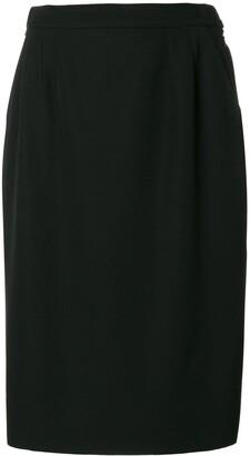 Yves Saint Laurent Pre-Owned Classic Pencil Skirt