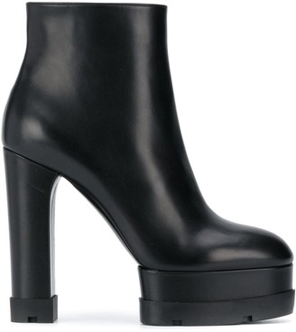 Casadei Platform 140mm Ankle Boots