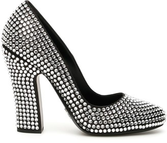 Prada Crystal Pumps