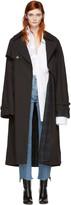 Vetements Black Mackintosh Edition Oversized Trench Coat