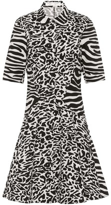 Proenza Schouler Animal-print cotton shirtdress