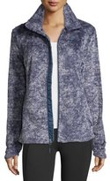 The North Face Novelty Osito Fleece Sport Jacket, Indigo Blue Marble
