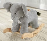Pottery Barn Kids Elephant Plush Rocker