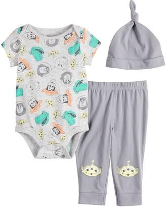 Disneyjumping Beans Disney / Pixar Toy Story Baby Boy Bodysuit, Pants & Hat Set by Jumping Beans