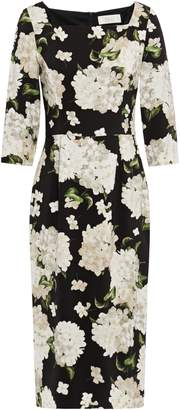 Goat Imagine Floral-print Stretch-crepe Dress