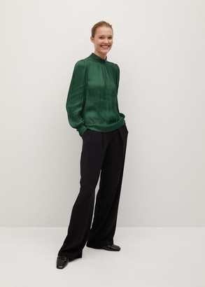 MANGO Puff sleeves blouse