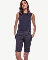 Ann Taylor Devin Cotton Walking Shorts