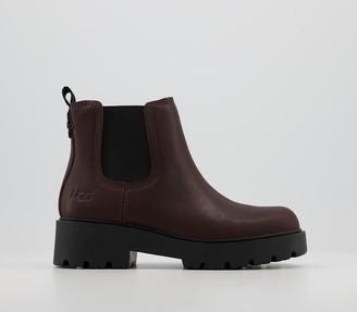 UGG Markstrum Boots Burgandy