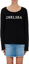 The Elder Statesman Women's Cashmere Chelsea Sweater-BLACK