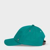 Paul Smith Men's Green Baseball Cap