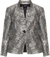 Hermann Lange Plus Size Lace overlay blazer