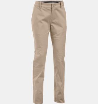 Under Armour Girls' UA Uniform Chino Pants - Plus Size