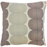 """Sophronia Throw Pillow Bay Isle Home Color: Plum, Size: 18"""" x 18"""""""