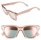 Fendi Women's Be You 50Mm Gradient Sunglasses - Grey/ Blue