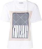Peserico geometric-print crew-neck T-shirt