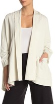 L-Space Coquette French Terry Cardigan