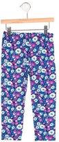 Oscar de la Renta Girls' Floral Print Leggings w/ Tags