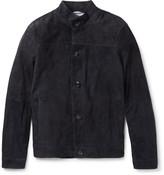 Michael Kors Slim-Fit Suede Harrington Jacket
