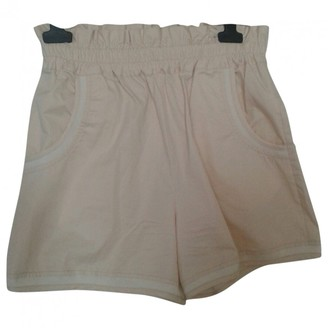 See by Chloe Beige Cotton Shorts for Women