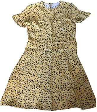 Michael Kors Yellow Silk Dress for Women