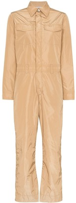 Ganni Collared Utility Jumpsuit