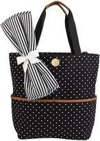 Mud Pie BIG BUNDLE TOTE BLACK