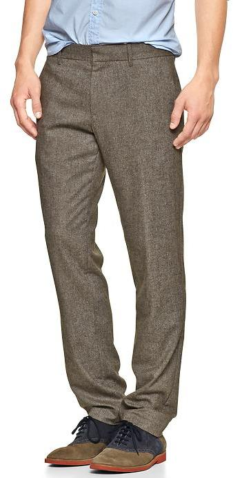 Gap The tailored tweed pant (slim fit)