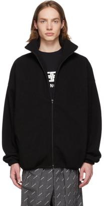 Balenciaga Black Fleece You Are The World Jacket