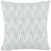 One Kings Lane Sea 20x20 Pillow - Ivory/Blue