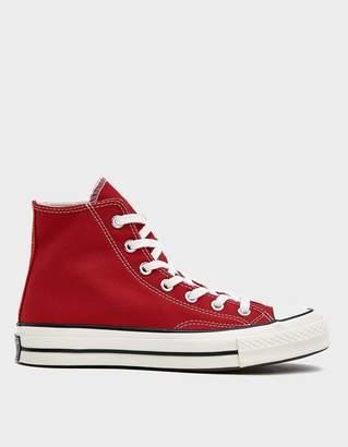 Converse Chuck 70 Hi Sneaker in Enamel Red