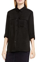 Vince Camuto Two by Vince Camtuo Roll Sleeve Utility Shirt