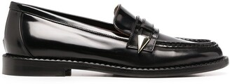 L'Autre Chose Patent Leather Loafers