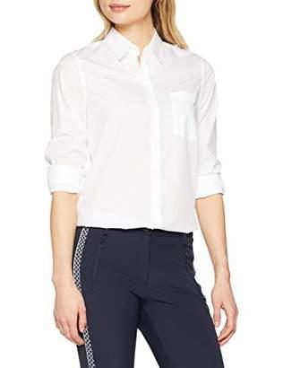 Seidensticker Women's Hemdbluse Langarm Modern Fit Uni Bügelleicht Blouse,(Manufacturer Size: 44)