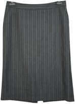 Banana Republic Grey Wool Skirt for Women