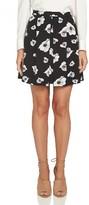 CeCe Women's Floral Print Miniskirt