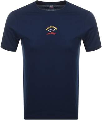 Paul & Shark Paul And Shark Logo T Shirt Navy