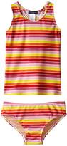 Toobydoo Multi Stripe Tankini (Infant/Toddler/Little Kids/Big Kids)