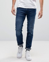 Blend of America Cirrus Skinny Jeans in Mid Blue