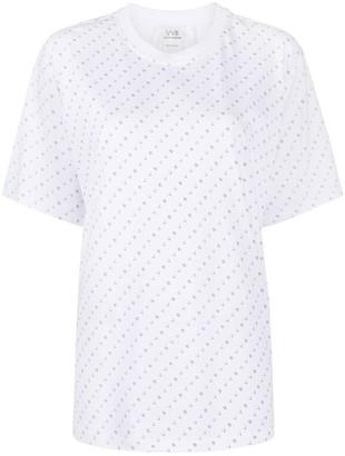 Victoria Victoria Beckham logo-print cotton T-shirt