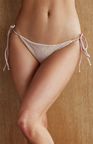 Tori Praver Allegra Tie Side Cheeky Bikini Bottom