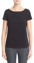 Lafayette 148 New York Women's Short Sleeve Jersey Tee
