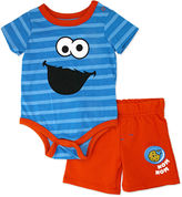 Sesame Street 2-pc. Short Set Infant Boys