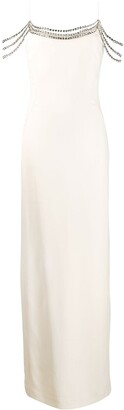 Stella McCartney Embellished Long Dress