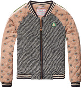 Scotch & Soda Printed Bomber Jacket
