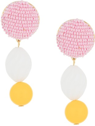 Shourouk Beaded Drop Earrings