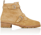 Tabitha Simmons Women's Aggy Suede Ankle Boots-TAN