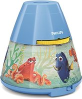 Philips Disney Finding Dory Children's Bedside Night Light and Projector - Blue