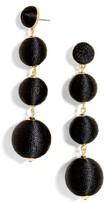 BaubleBar Women's Criselda Ball Shoulder Duster Earrings